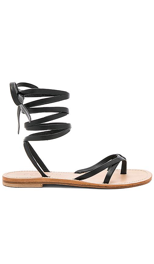 CoRNETTI Aiano Sandal in Black