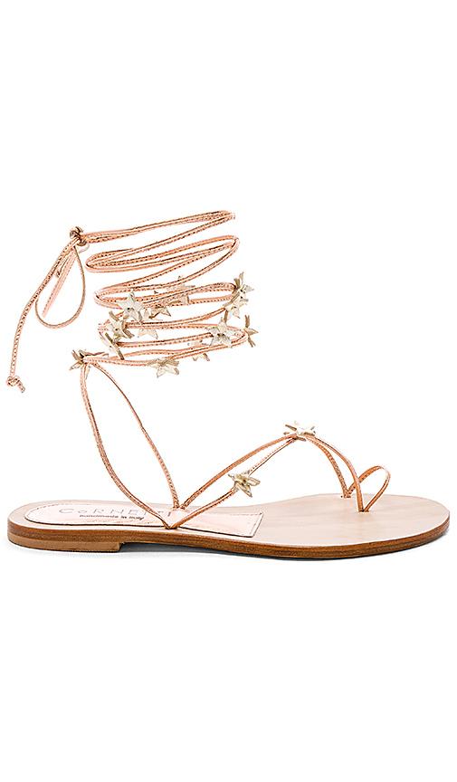 CoRNETTI Stellina Sandal in Metallic Copper