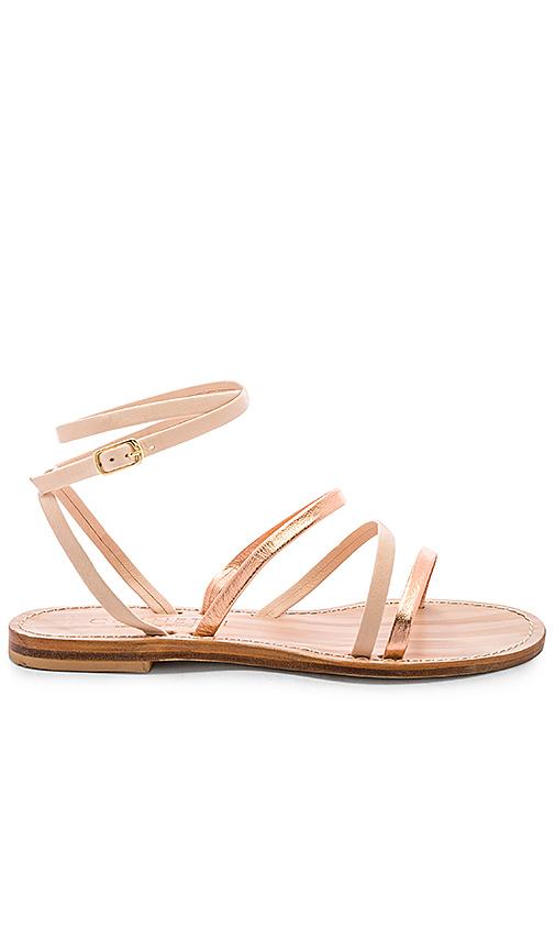 CoRNETTI Lipari Sandal in Metallic Copper