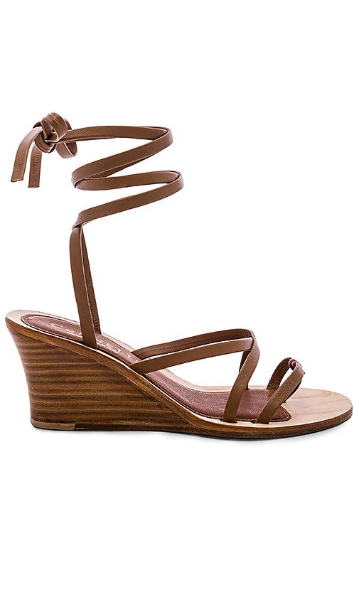 CoRNETTI Caminia Wedge Sandal in Brown