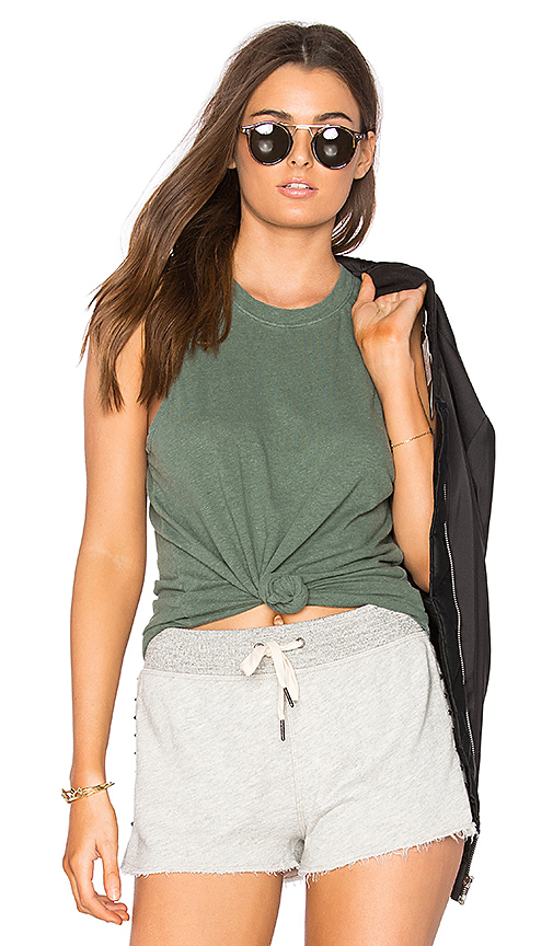 COTTON CITIZEN The Amsterdam Tank in Sage
