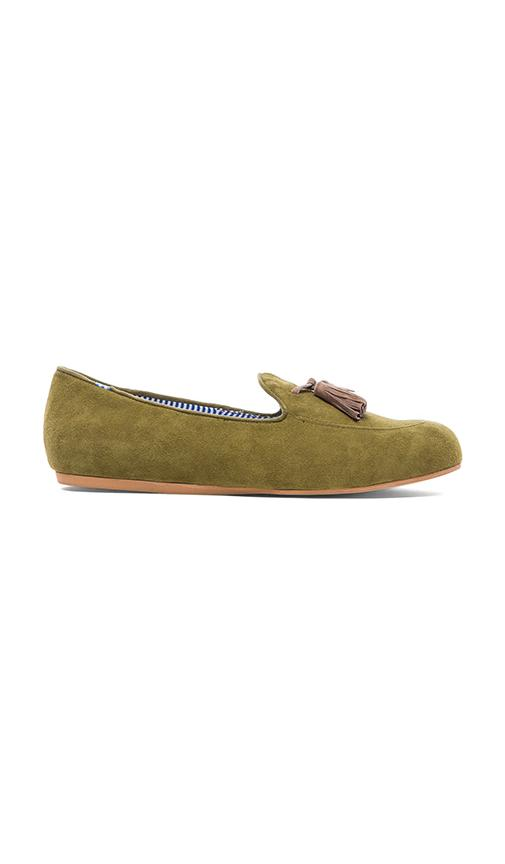 Charles Philip Shanghai Ronald Loafer in Green