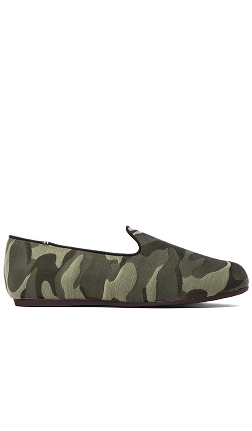 Charles Philip Shanghai Constantino Loafer in Green