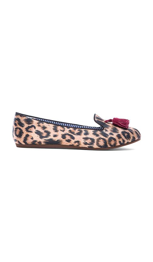 Charles Philip Shanghai Sheila Loafer in Brown