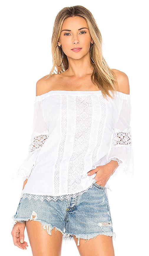 Charo Ruiz Ibiza Gaya Blouse in White