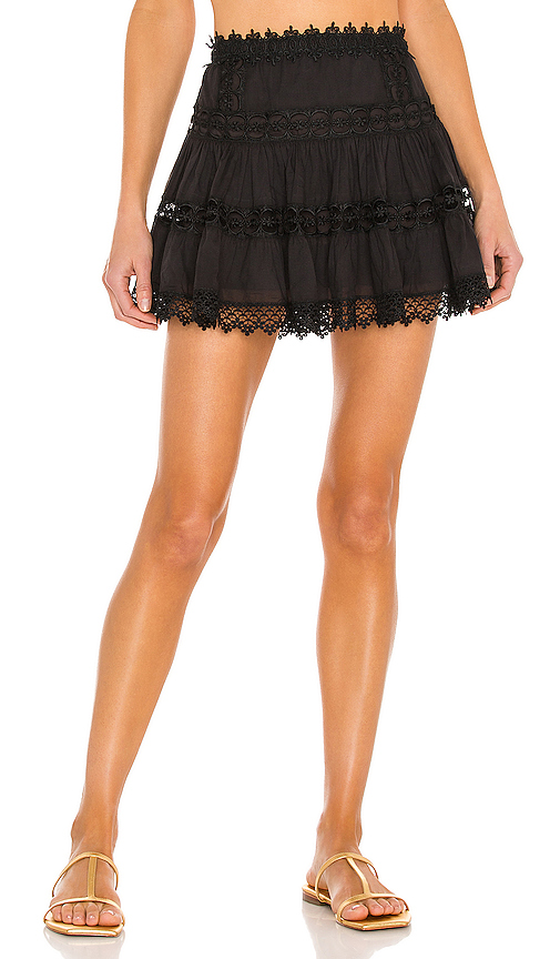 Charo Ruiz Ibiza Greta Skirt in Black