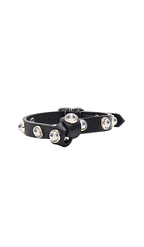Carven Full Joy Stud Bracelet in Black
