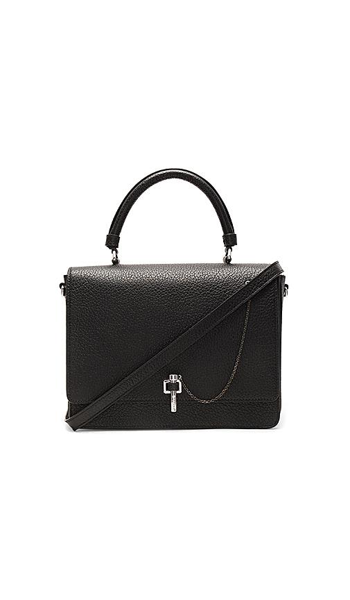 Carven Malher Shoulder Bag in Black.