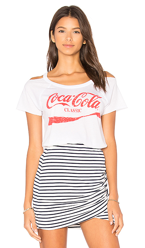 Chaser Coca-Cola Classic Tee in White
