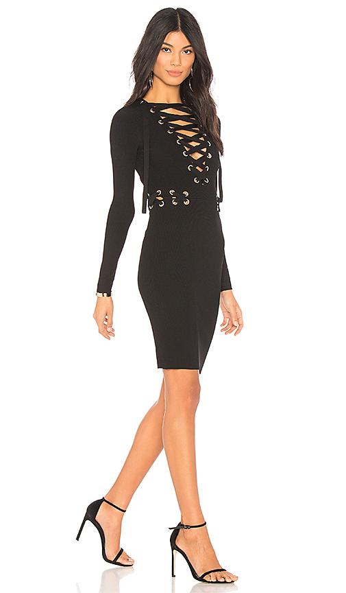 Chrissy Teigen x REVOLVE Como Dress in Black