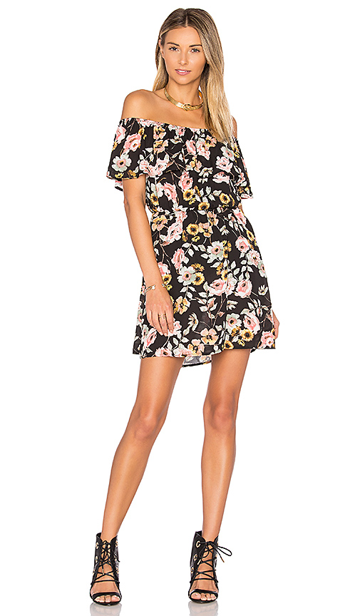 cupcakes and cashmere Trenton Dress in Black