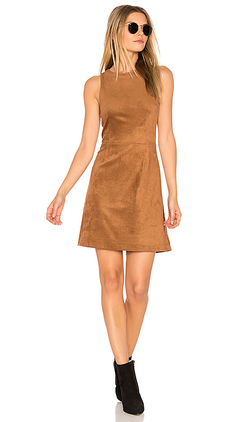 cupcakes and cashmere Savi Dress in Brown