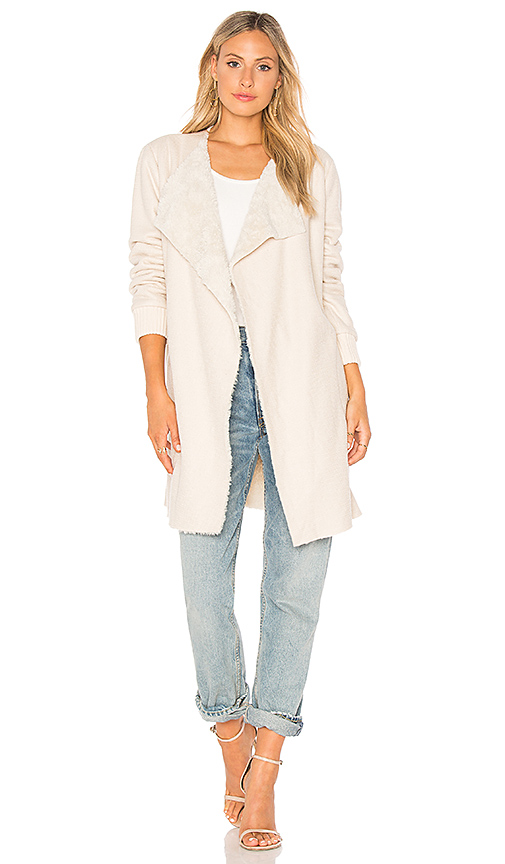cupcakes and cashmere Carlotta Jacket in Beige