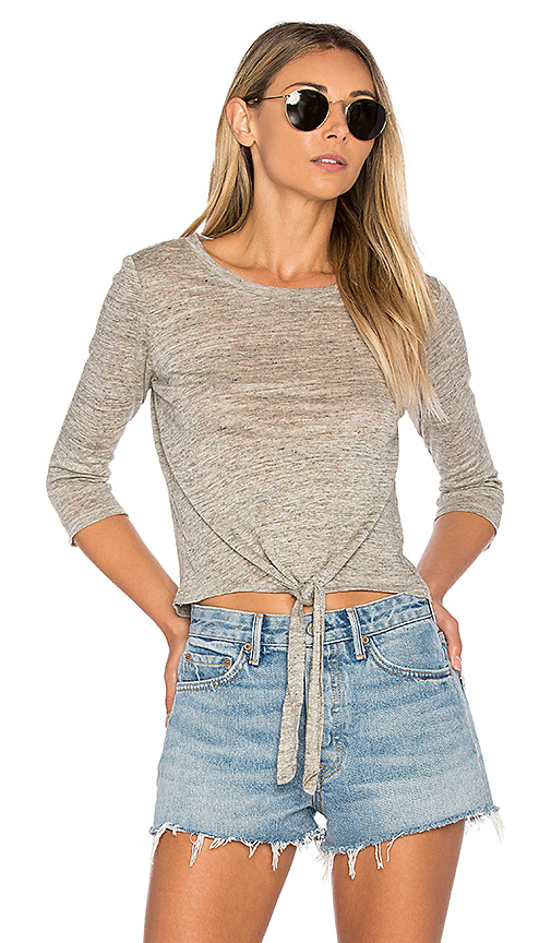 cupcakes and cashmere Mariel Top in Gray