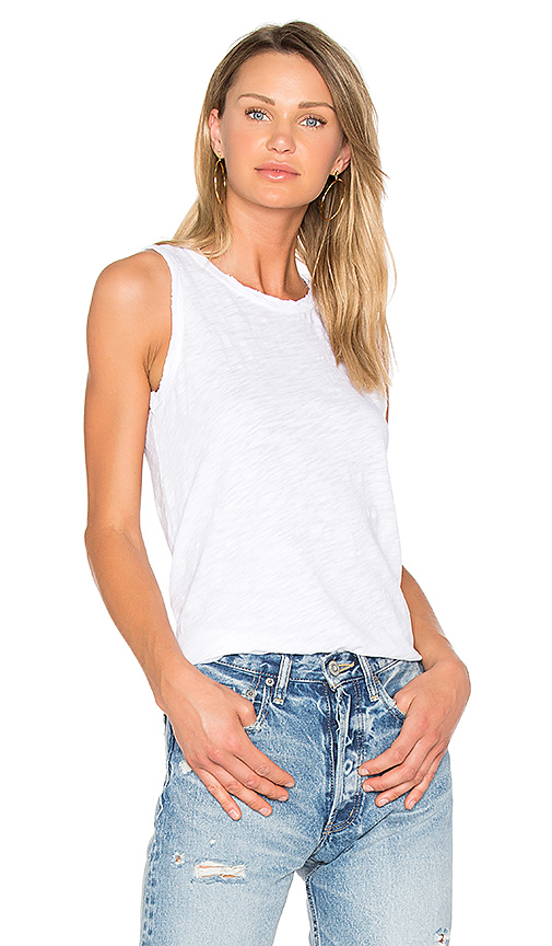 Current/Elliott The Muscle Tee in White