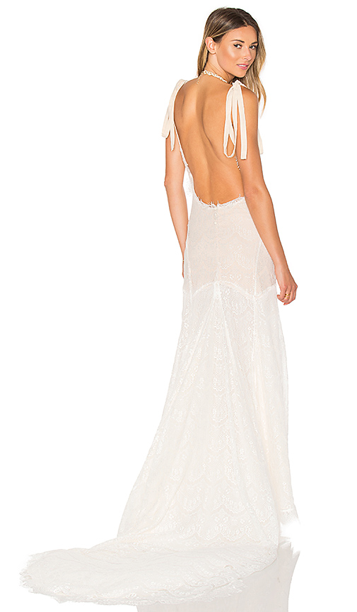 daughters of simone x REVOLVE Olie Gown in White