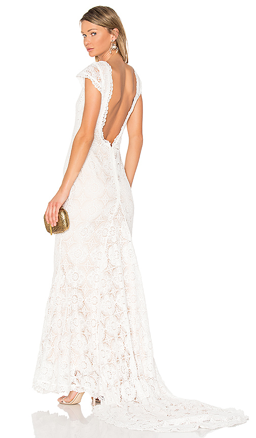 daughters of simone x REVOLVE Liv Gown in White