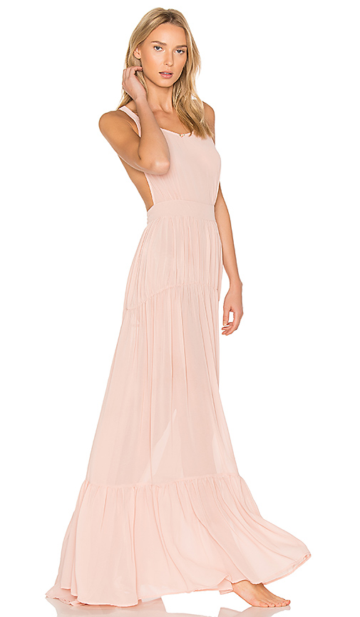 Daydream Nation Hopeless LA Maxi Dress in Pink