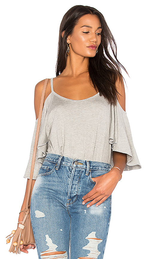 De Lacy Abby Top in Gray