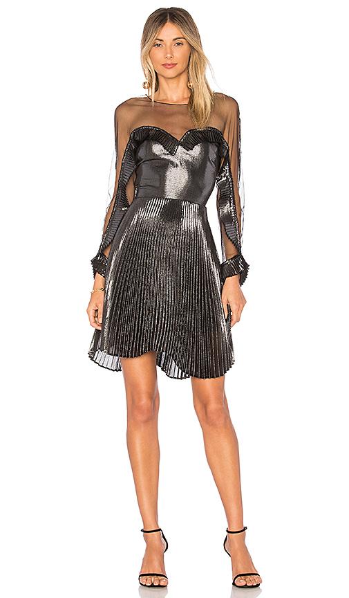 DELFI Katia Dress in Metallic Silver