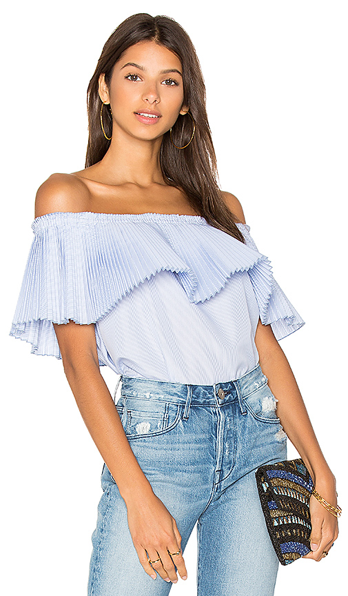 DELFI Luella Top in Blue