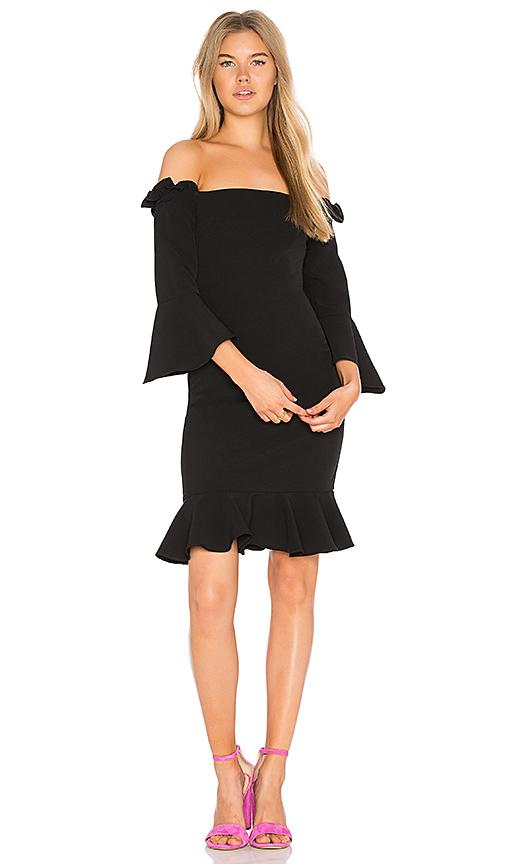 devlin Sandra Dress in Black