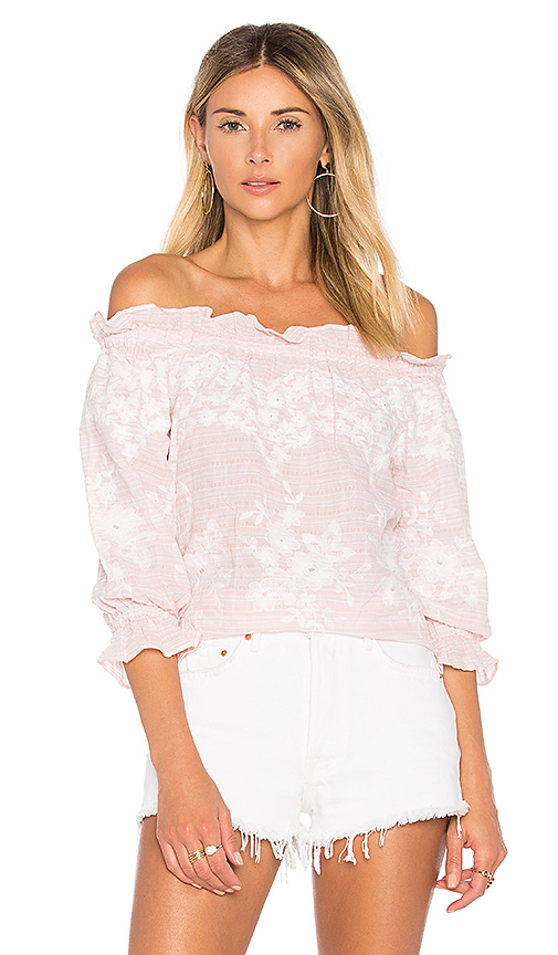 devlin Renee Blouse in Pink. - size M (also in S)