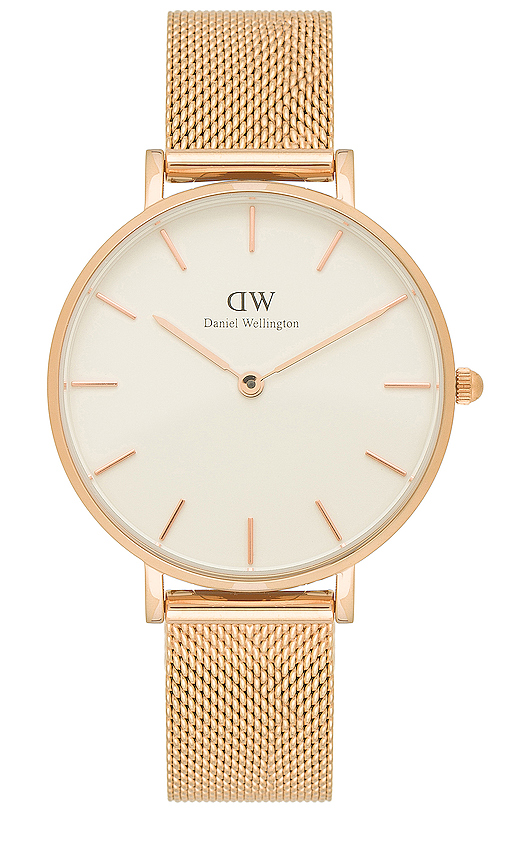 Daniel Wellington Petite Melrose 32MM Watch in Metallic Copper.