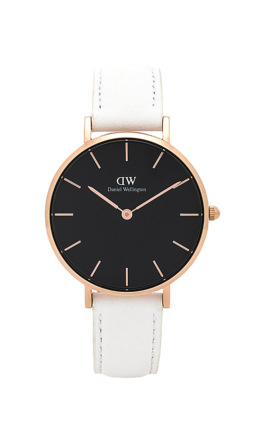 Daniel Wellington Classic Petite Bondi 32mm Watch in White.