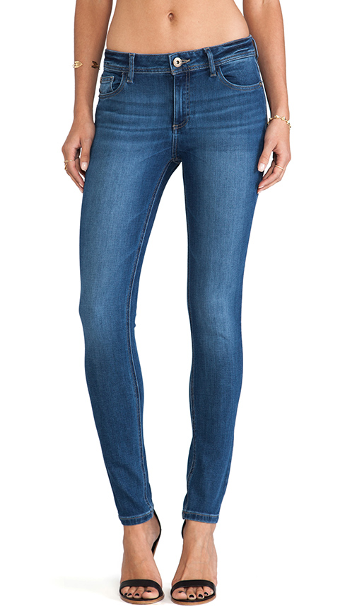DL1961 Florence Mid Rise Skinny in Pacific
