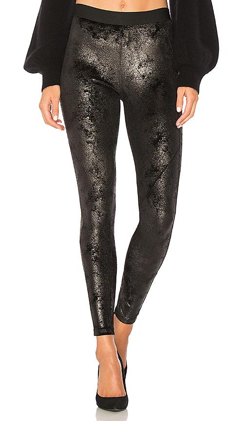 David Lerner Velvet Bergen Legging in Black. - size XS (also in L,M,S)