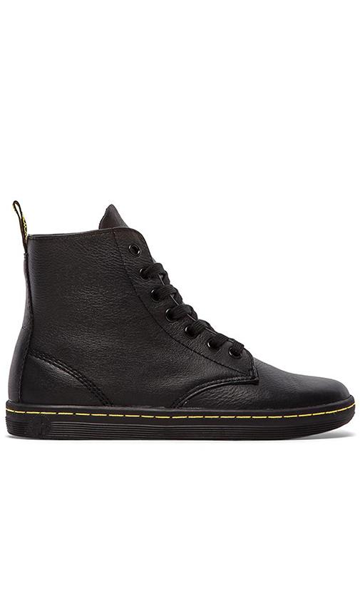 Dr. Martens Leyton 7-Eye Boot in Black