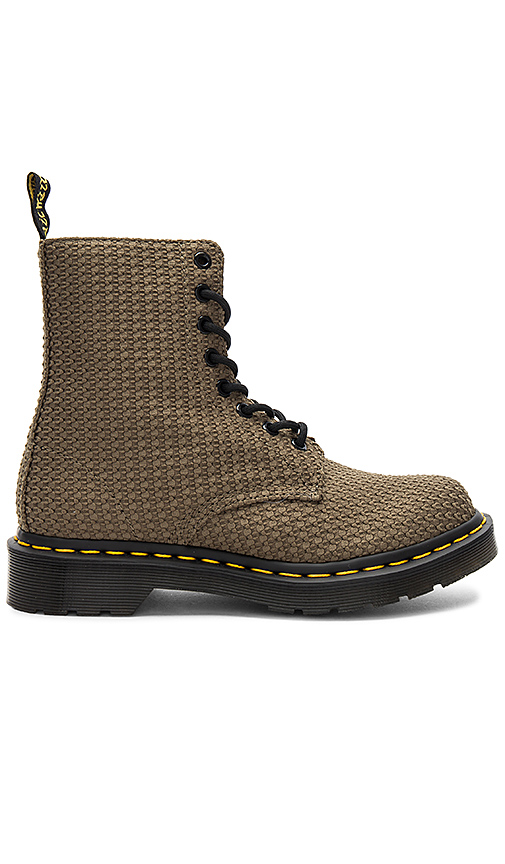 Dr. Martens Page WC Boot in Army. - size 6 (also in 10,7,8,9)