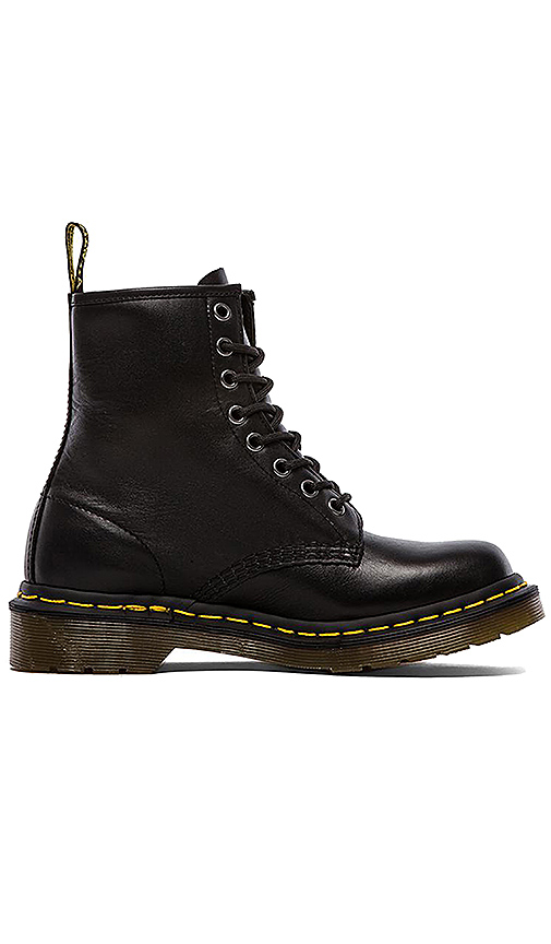 Dr Martens Iconic 8 Eye Boot in Black