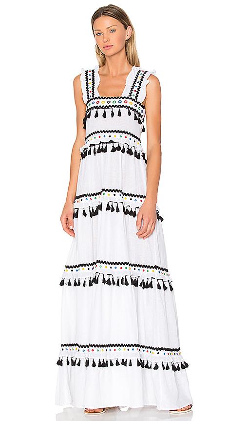 Dodo Bar Or Amal Dress in White