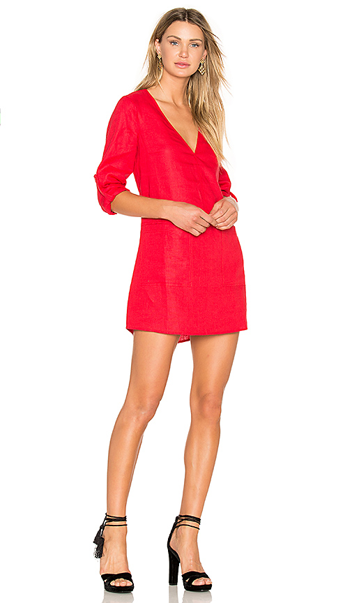 Dolce Vita Bethany Shift Dress in Red