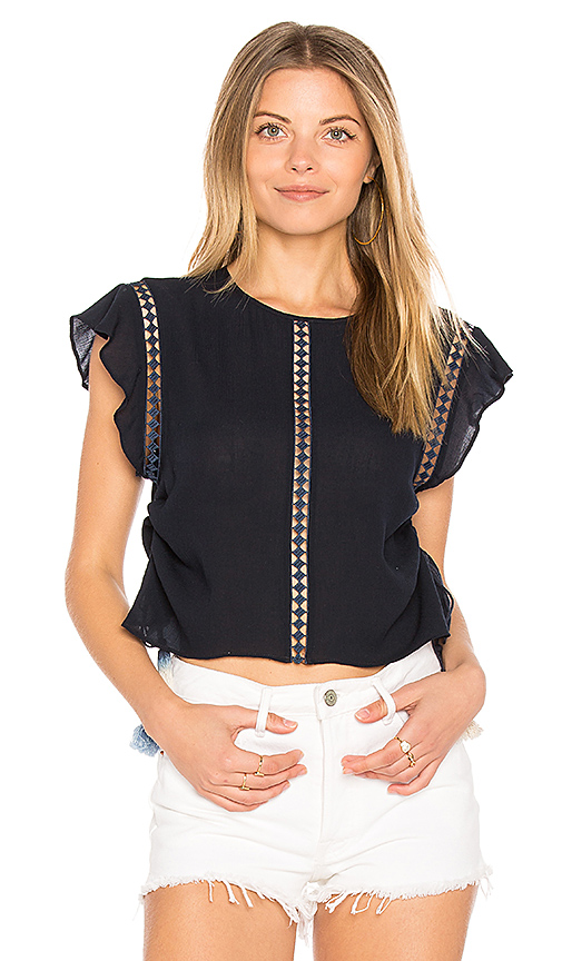 Dolce Vita Ambrose Top in Navy