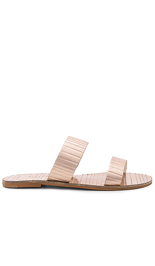 Dolce Vita Jaz Sandal in Metallic Copper