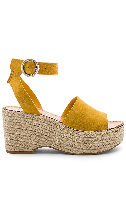 Dolce Vita Lesly Sandal in Yellow