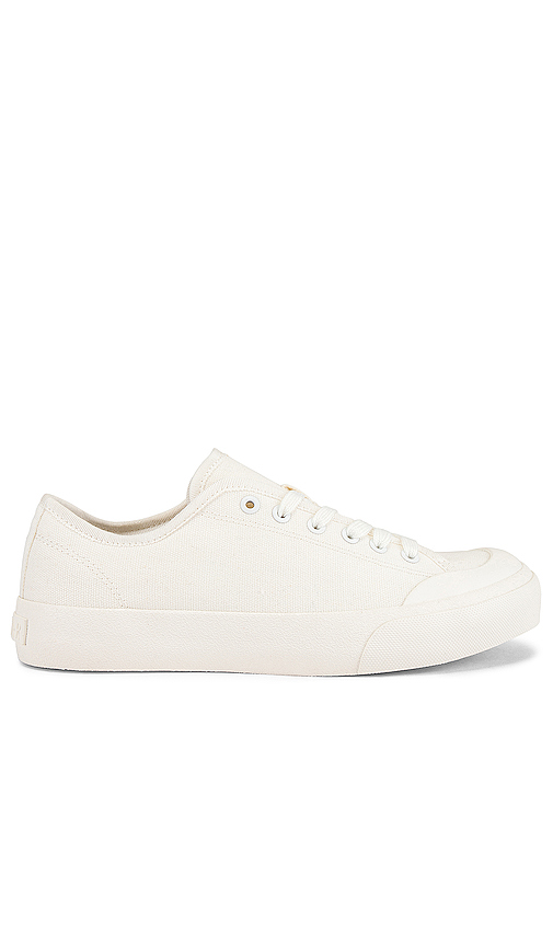 Dolce Vita Canvases DOLCE VITA CLEAR BRYTON SNEAKER IN WHITE.
