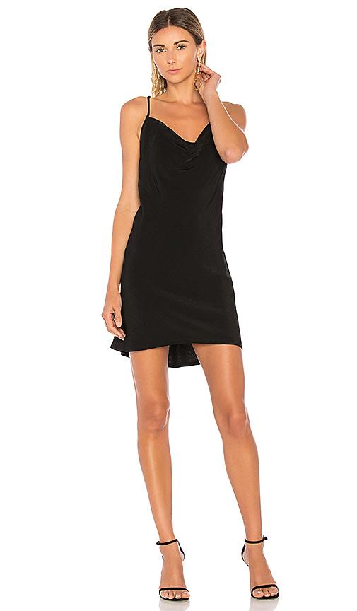 Donna Mizani Olympia Mini Dress in Black