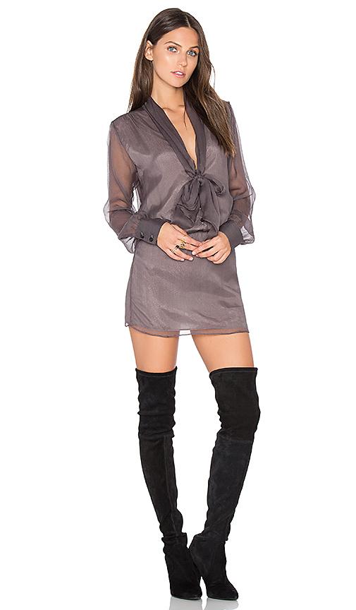 DREAM Mary Jane Dress in Gray