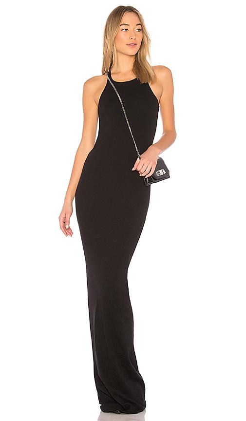 DRKSHDW by Rick Owens Rib Tank Dress in Black