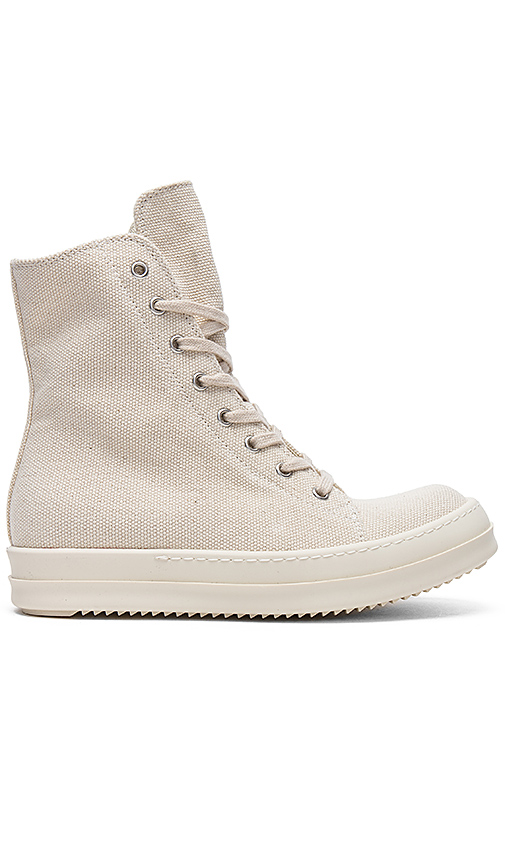 DRKSHDW by Rick Owens Vegan Sneakers in Cream. - size 36.5 (also in 37,38,38.5,40)