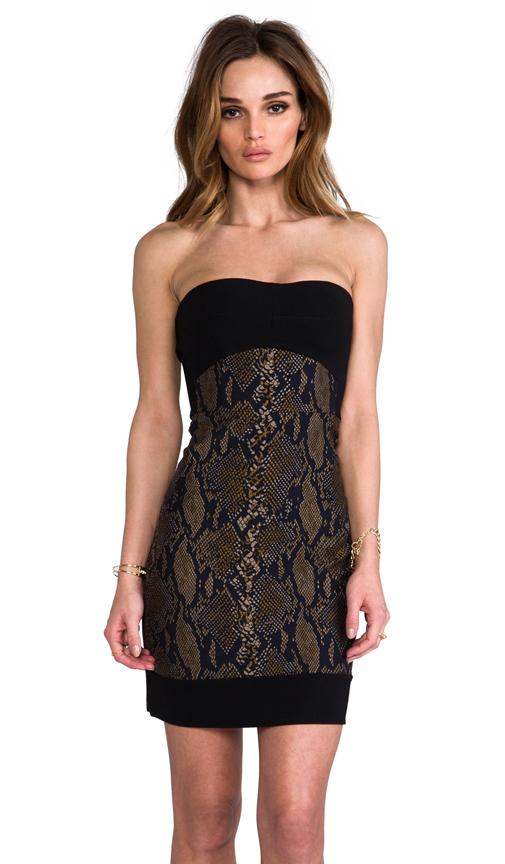 Diane von Furstenberg Garland Two Dress in Black