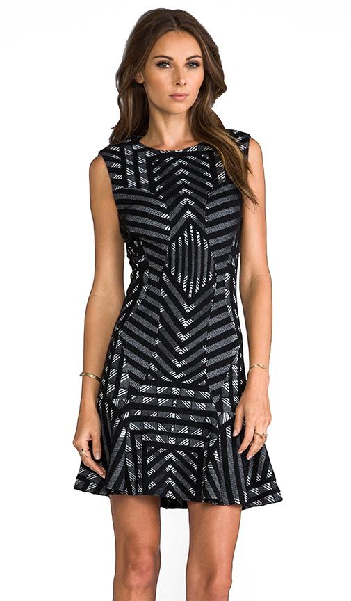Diane von Furstenberg RUNWAY Carlie Dress in Black