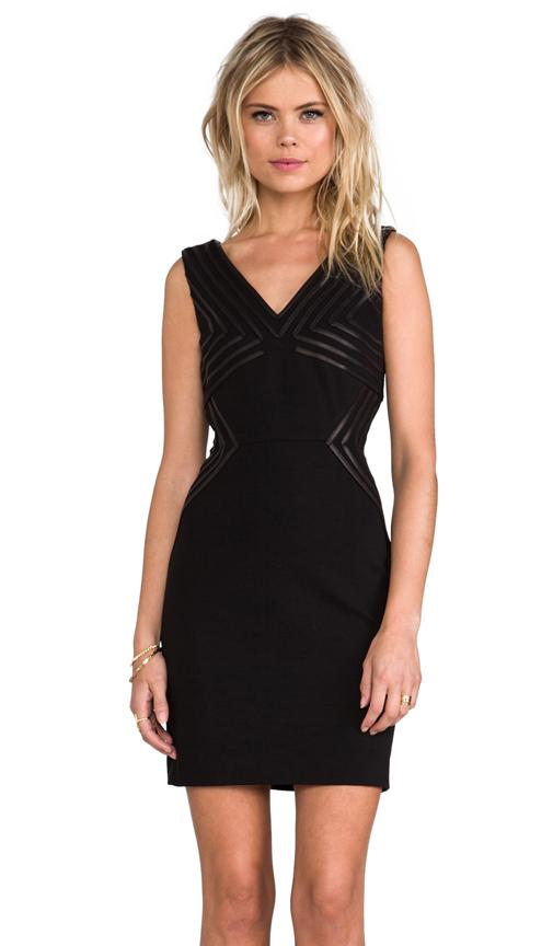 Diane von Furstenberg Glenda Dress in Black