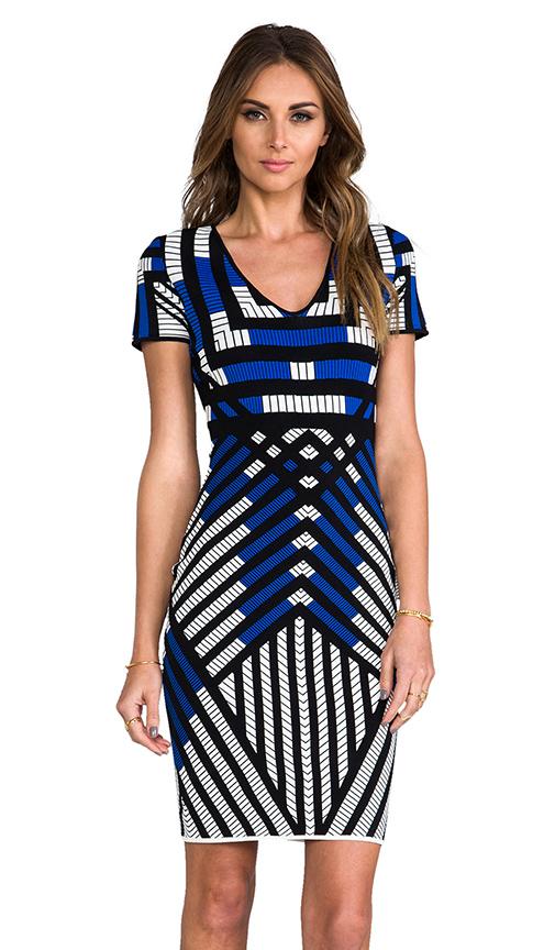 Diane von Furstenberg RUNWAY Lorraine Dress in Blue
