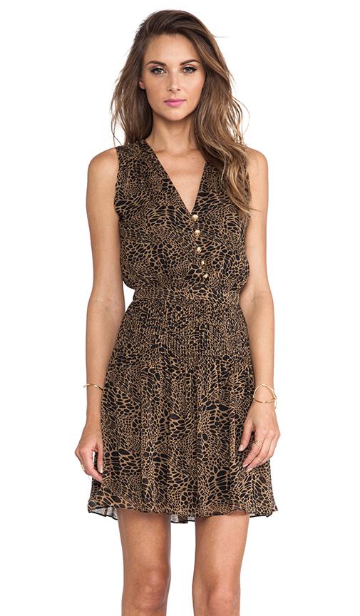 Diane von Furstenberg Zaeta Dress in Brown