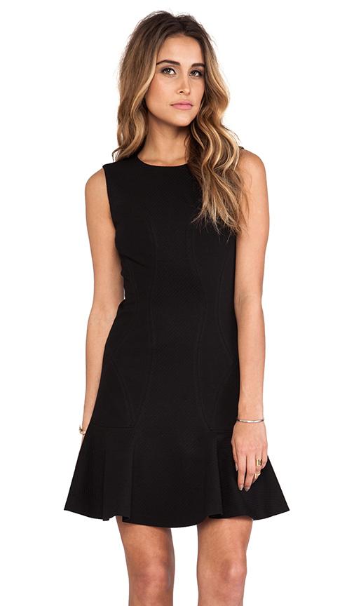 Diane von Furstenberg Jaelyn Dress in Black
